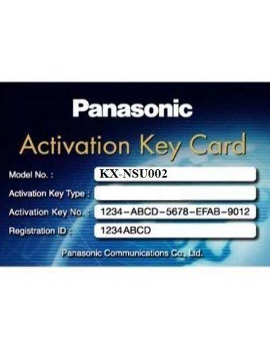 KX-NSU002 لایسنس پاناسونیک