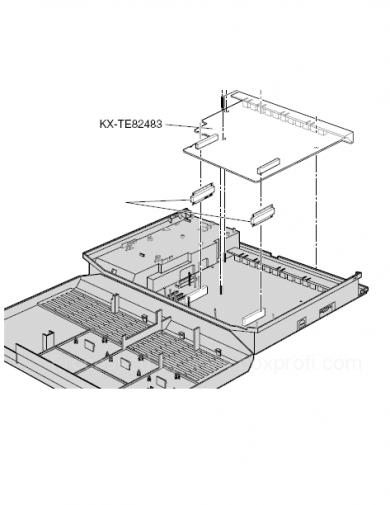 نصب کارت سانترال-TE82483-PANASONIC