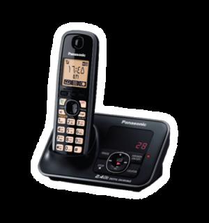گوشی تلفن بیسیم منشی دار پاناسونیک KX-TG3721