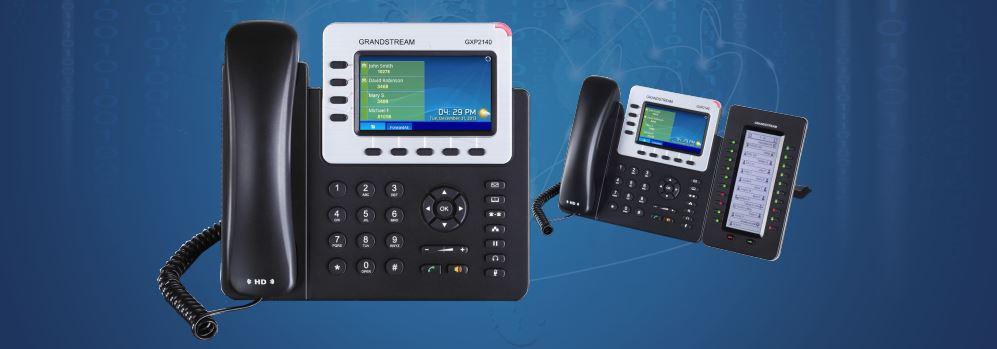 آی پی فون و تلفن تخت شبکه 2140 گرند