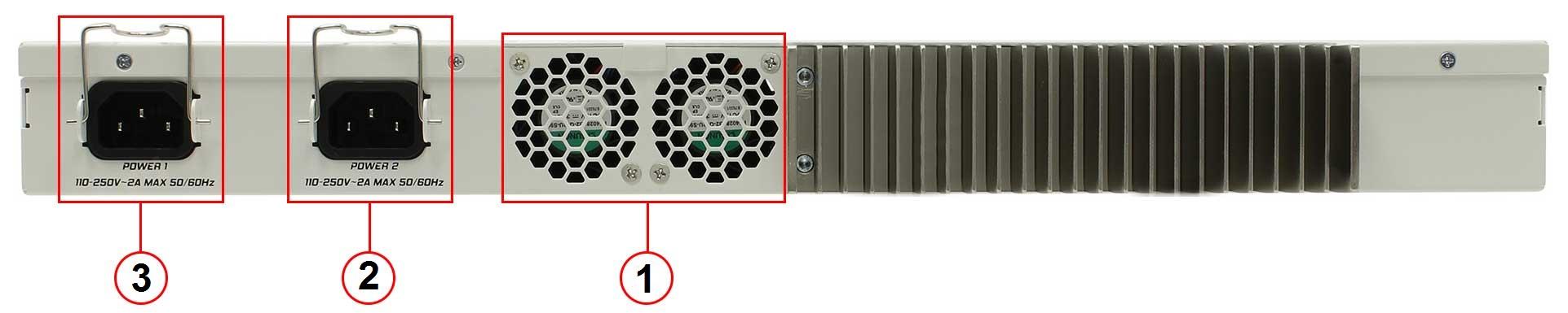 MIKROTIK CRS317-1G-16SRM-back-panel