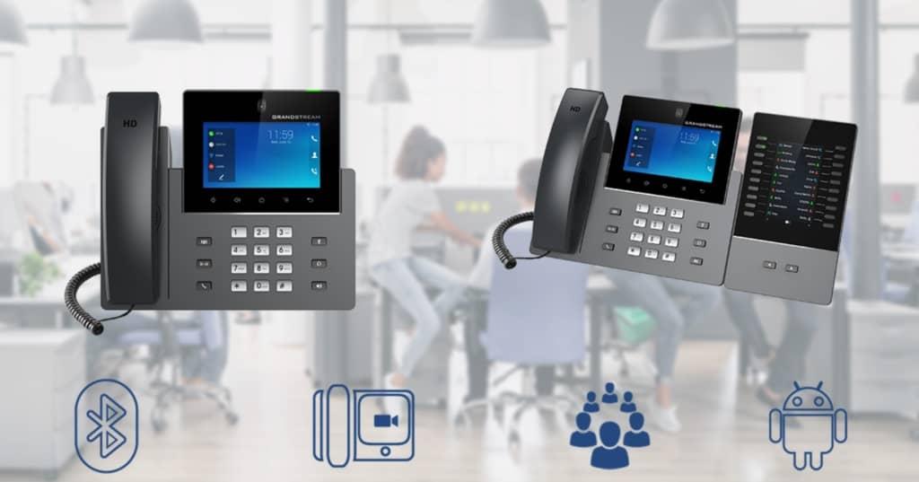 تلفن تصویری گرنداستریم GXV3350 IP